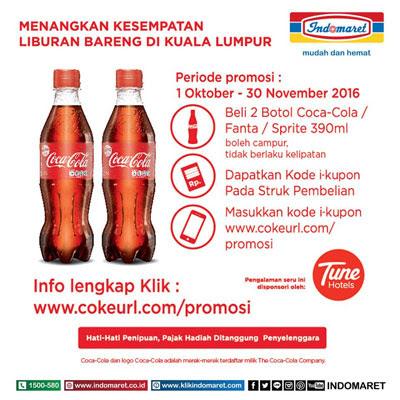 Coca Cola Liburan Bareng di Kuala Lumpur