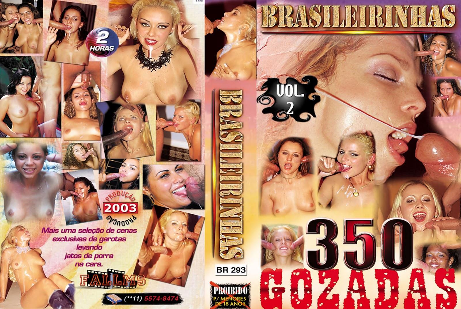 Brasileirinhas 350 Gozadas Vol 2