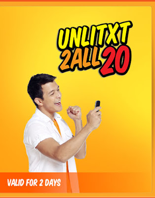 Talk n Text Promo Unlimited Text to All NetWork