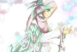35+ Gambar Kartun Anak Muslimah Cantik