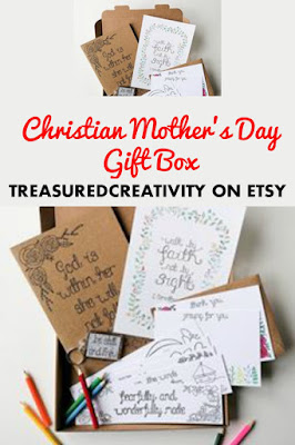 Christian Mothers Day Gift Box from Treasured Creativity on Etsy