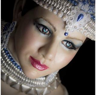 Indira, la Danseuse Kandy - Raquel García de Cake Art
