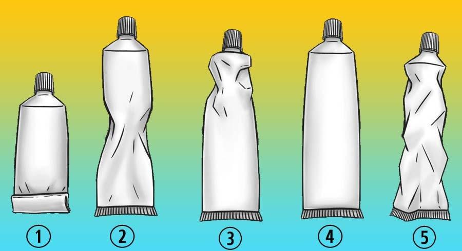 Test: ¿Cómo presionas la pasta de diente?