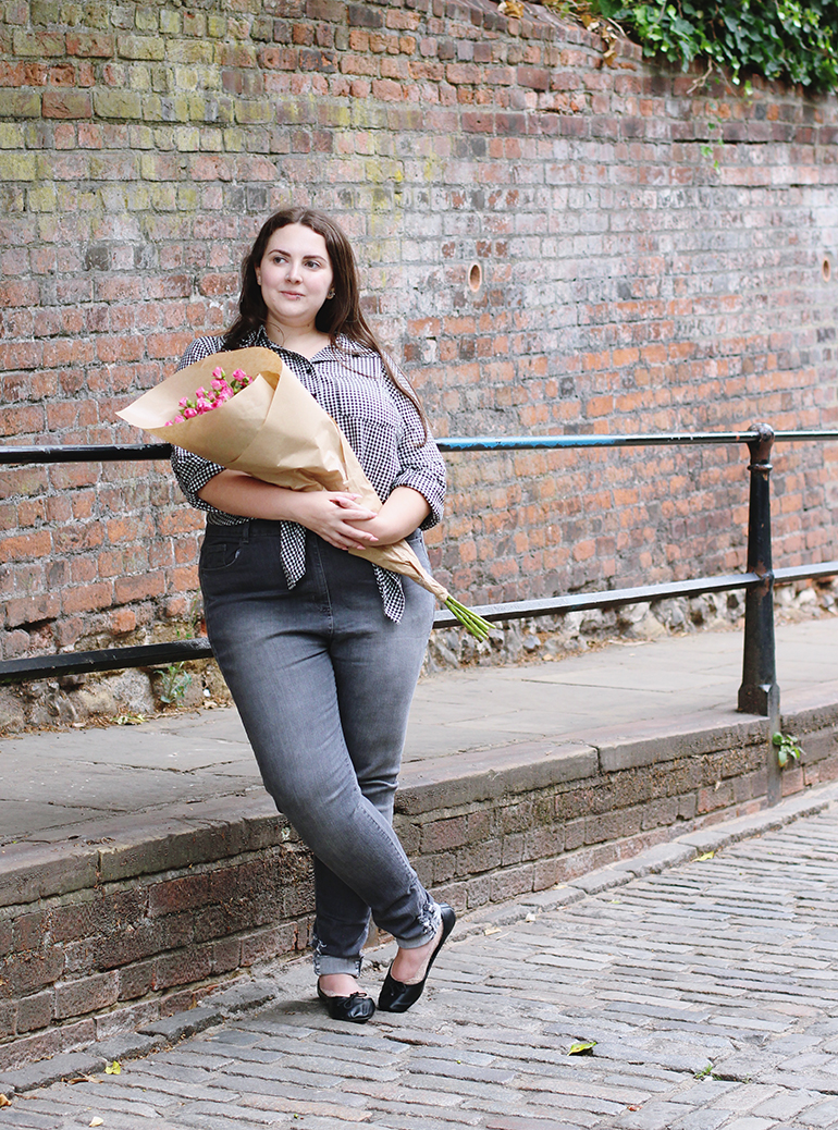 Grey Skinny Jeans Plus Size Yours Clothing