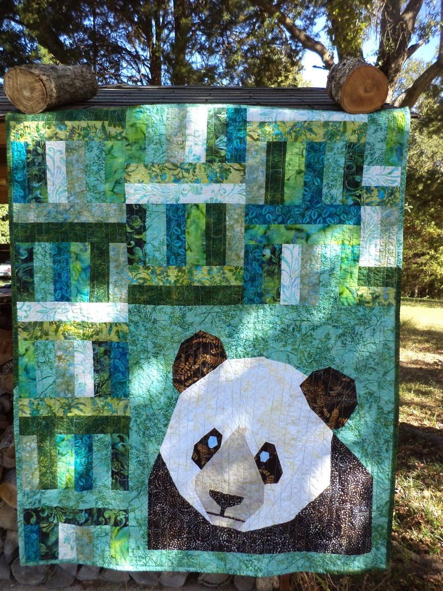 Kat Amp Cat Quilts The Panda Quilt