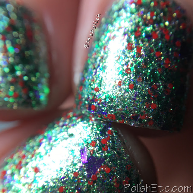 Whimsical Ideas by Pam - Holiday 2017 - McPolish - Holly Jolly