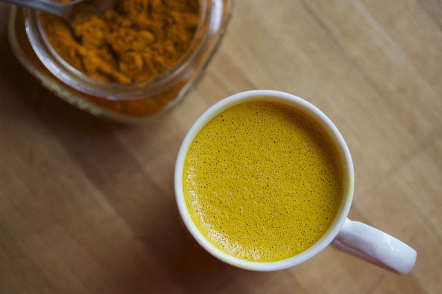Start morning with turmeric tea