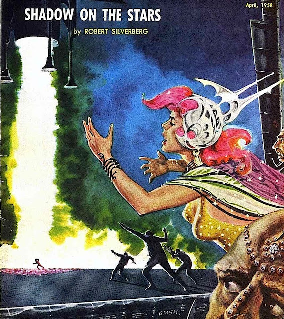 Ed Emshwiller 1958 book cover illustration