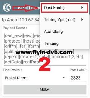 Cara import config KPN Tunnel Rev