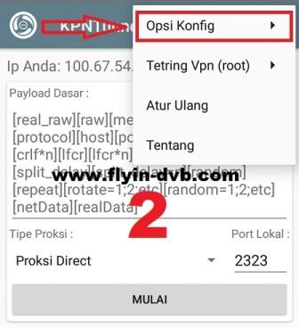 Cara import config KPN Tunnel Rev