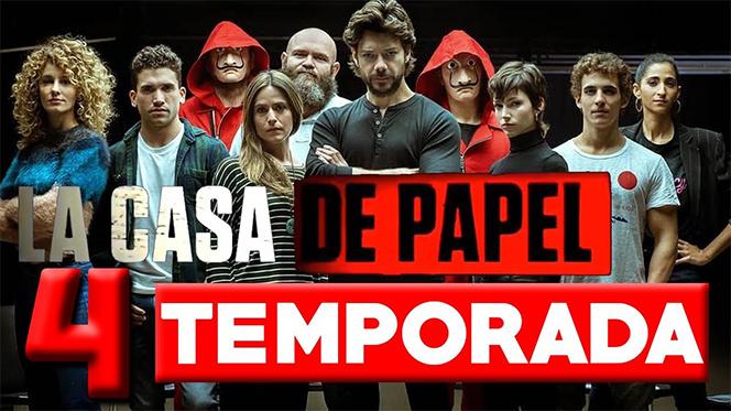 La casa de papel (2020) Temporada 4 Web-DL 1080p Castellano