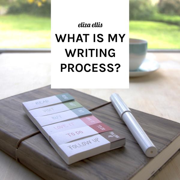 The Why I Write Blog Hop by Eliza Ellis