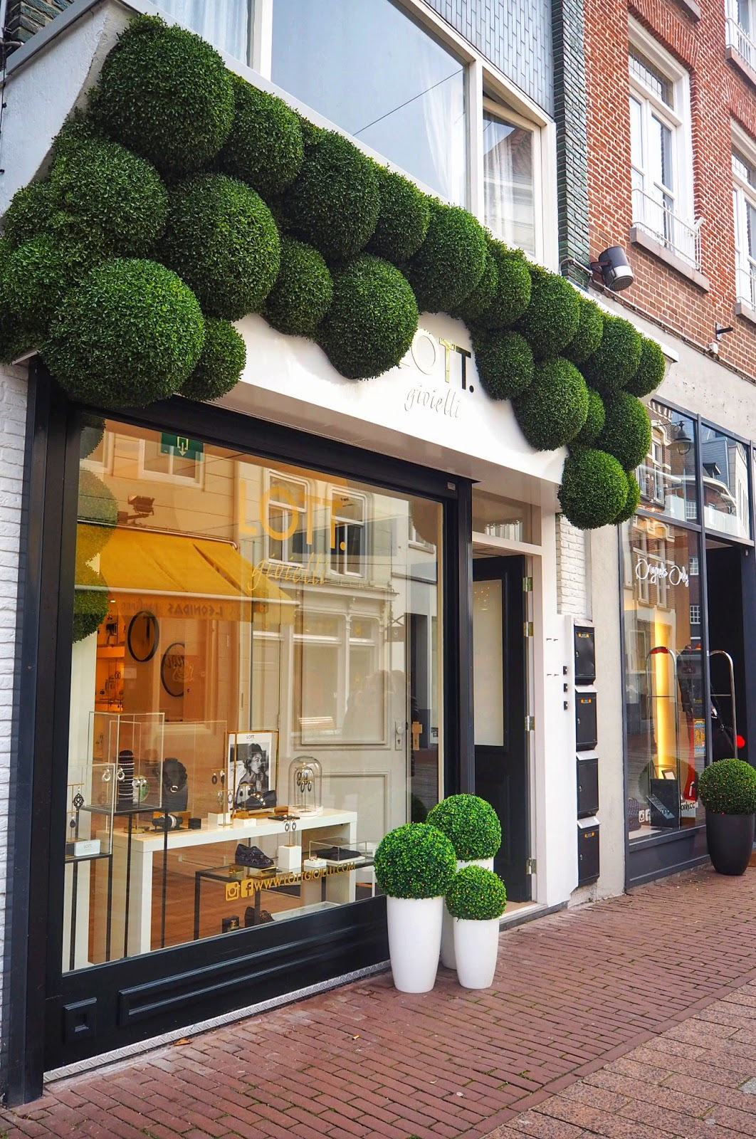 Uniquely decorated shops in Den Bosch