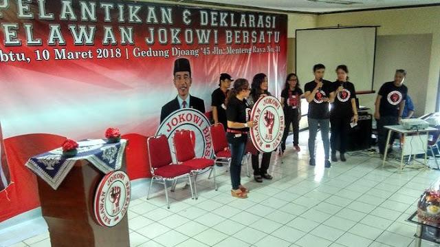 Relawan Jokowi Untuk Dua Periode Sudah Siap Untuk Bertarung Melawan Para Kampret Penjual Agama