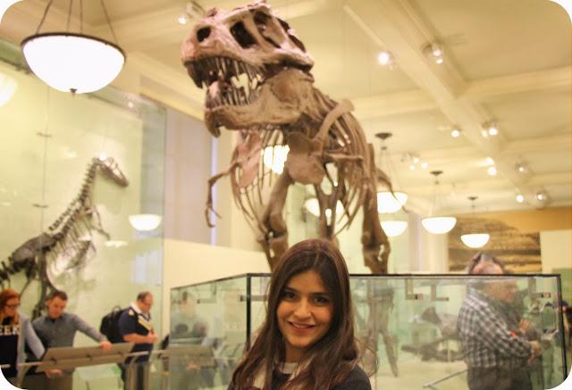 New York / Nova York / Estados Unidos / EUA / Tiranossauro Rex / Museu de História Natural de Nova York