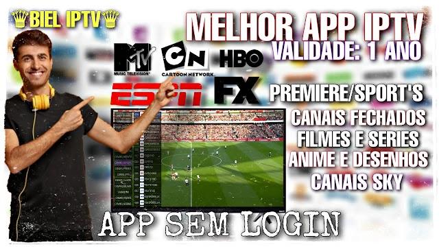 IPTV GRÁTIS 2021- App para ver TV  No Android, Smart, TV box -VALIDADE 1 ANO-Sem Login {Link Direto}