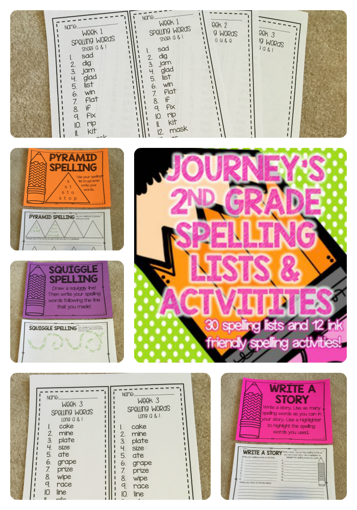 journeys 2nd grade spelling lists and activities saddle up for second grade. Black Bedroom Furniture Sets. Home Design Ideas