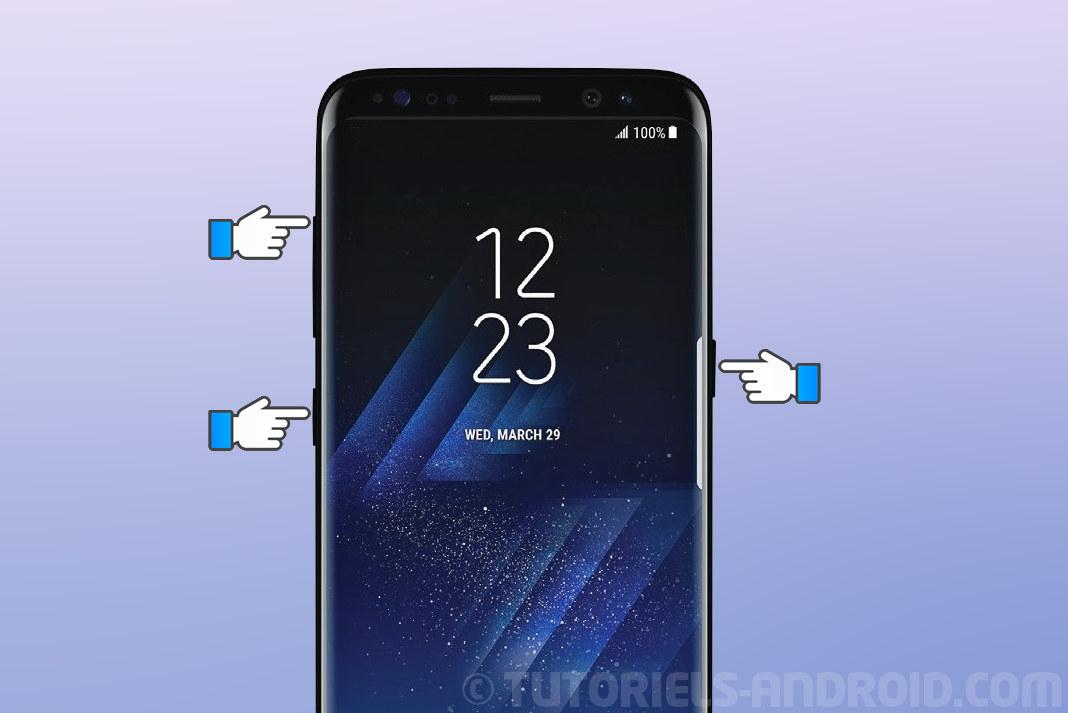 Redémarrage du GALAXY S8/S8+ en mode recovery