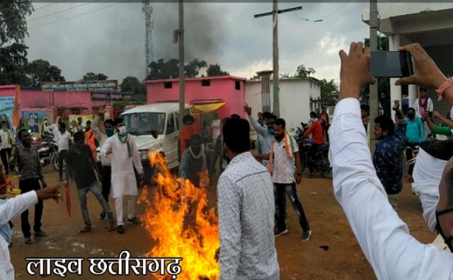 putla dahan modi video, gariaband mainpur news,live chhattisgarh news