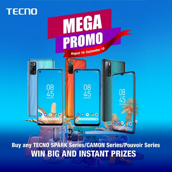 TECNO Mega Promo: Win Washing Machine, Microwave, Fridge, lots more