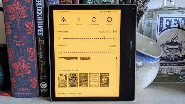 3.Amazon Kindle Oasis