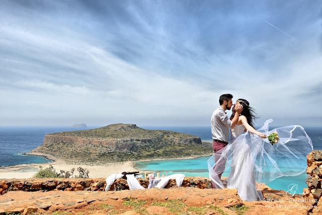 Kreta - sesja ślubna