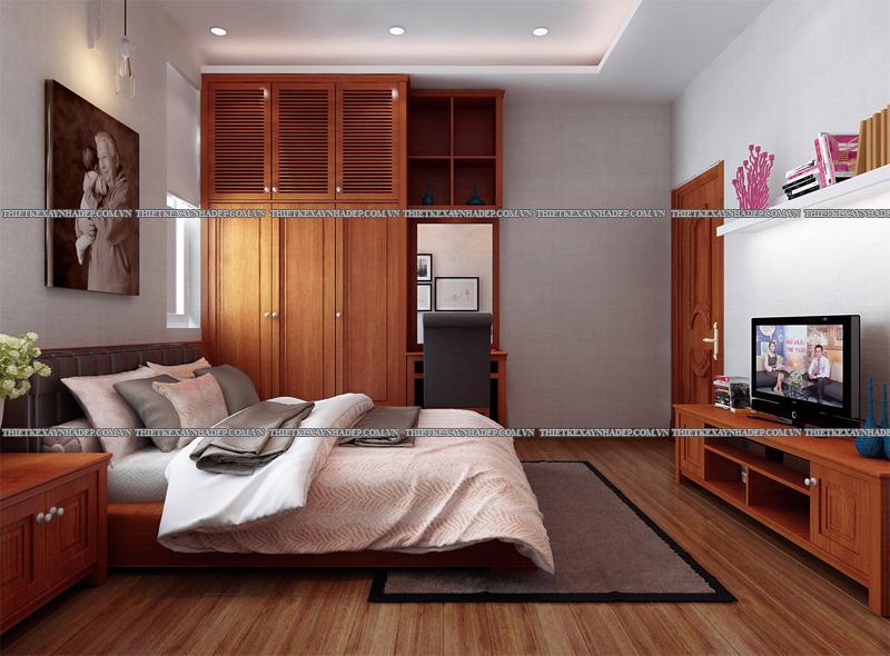 Mẫu thiết kế nội thất phòng ngủ đẹp anh Đăng - chị Thu Ngân Q.2 Phong-ngu-ong-ba-3