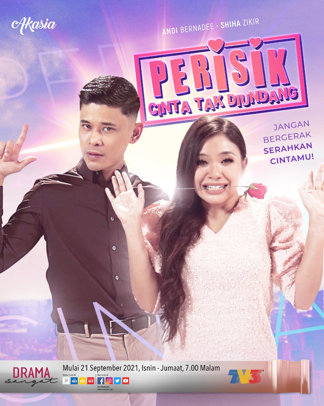 Drama Perisik Cinta Tak Diundang Slot Akasia TV3