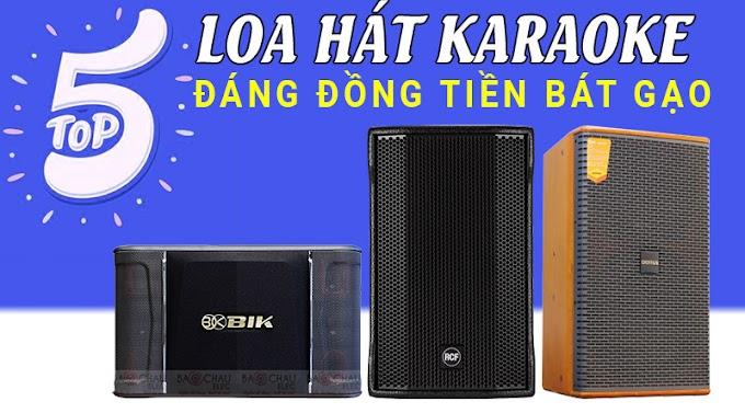Top 5 loa hát karaoke đáng đồng tiền bát gạo