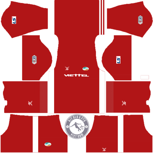 Kits CLB Viettel FC 2020 - Dream League Soccer 2019 & First Touch Soccer