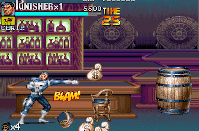 The Punisher Game Screenshots 1993