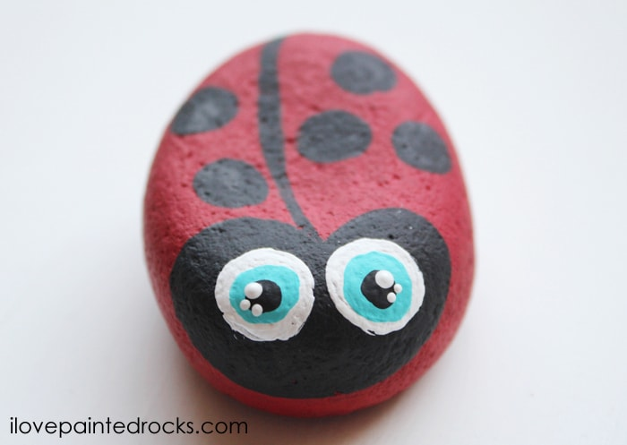 best ladybug rock painting ideas
