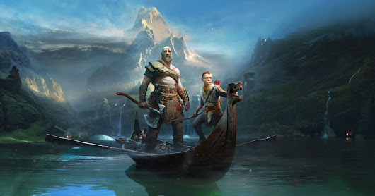 God of War Kratos and Atreus