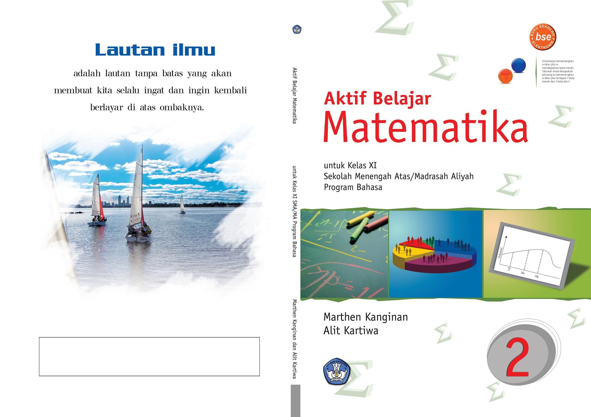 Download Buku Sekolah Elektronik (BSE) Mata Pelajaran Matematika SMA Kelas X, XI dan XII