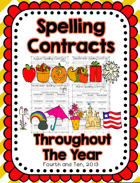 Fourth and Ten: April Spelling Contract