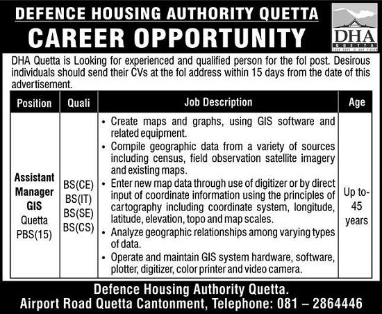 defence-housing-authority-dha-quetta-jobs-2020-advertisement