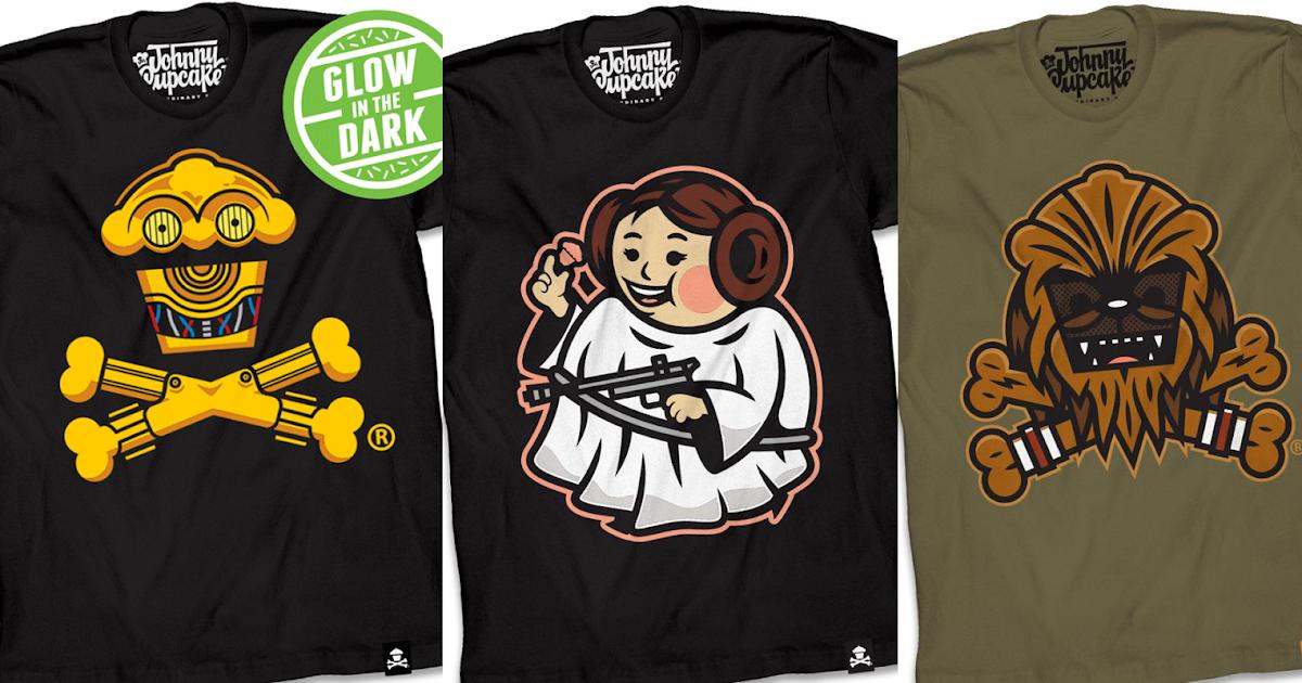 4edb27c47 The Blot Says...: New Johnny Cupcakes Star Wars: A New Hope T-Shirts!
