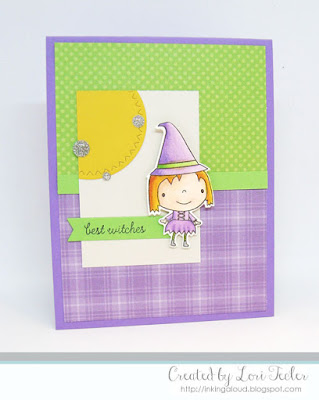 Best Witches card-designed by Lori Tecler/Inking Aloud-stamps and dies from Reverse Confetti