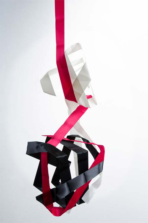Awesome Photography Just Using Ribbons