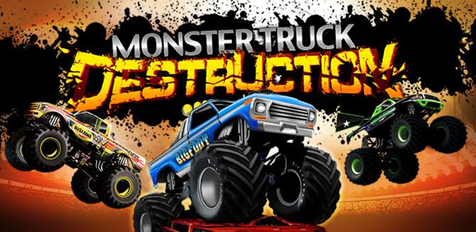 تنزيل العاب سيارات للكمبيوتر بدون نت Monster Truck Destruction