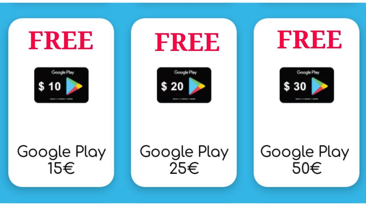 Khatri Tutorials: How to get free google play gift card redeem codes