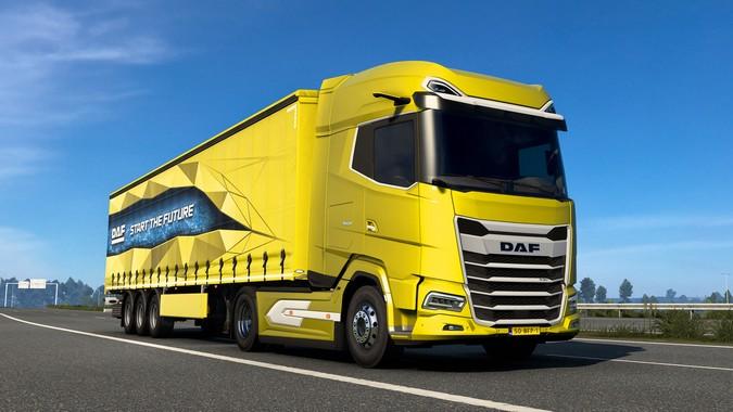 Novos caminhões DAF XG e XG+ chegam ao Euro Truck Simulator 2