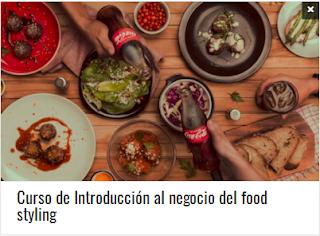 Curso de Introducción al negocio del food styling