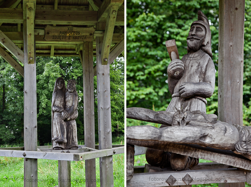 Święty Krzyż,świętokrzyskie,Świętokrzyski Park Narodowy,Droga Królewska