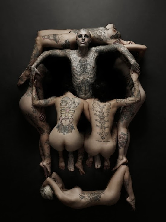 Tatuaż Arcydzieło Na Skórze Zacieszcom