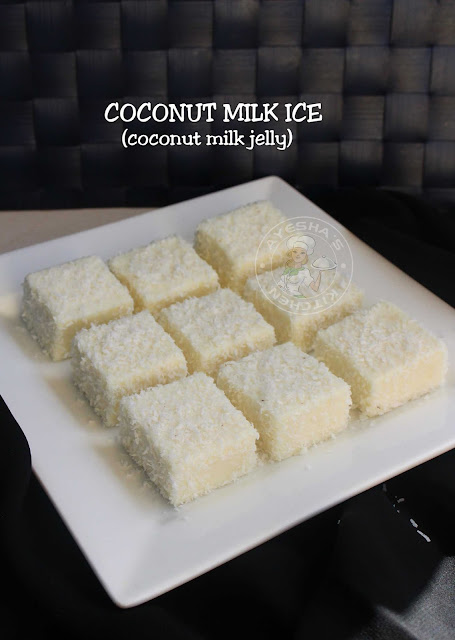 coconut milk recipes coconut ice pudding recipes coconut milk pudding agar agar china grass pudding easy pudding recipes yummy dessert recipes jelly recipes coconut jelly