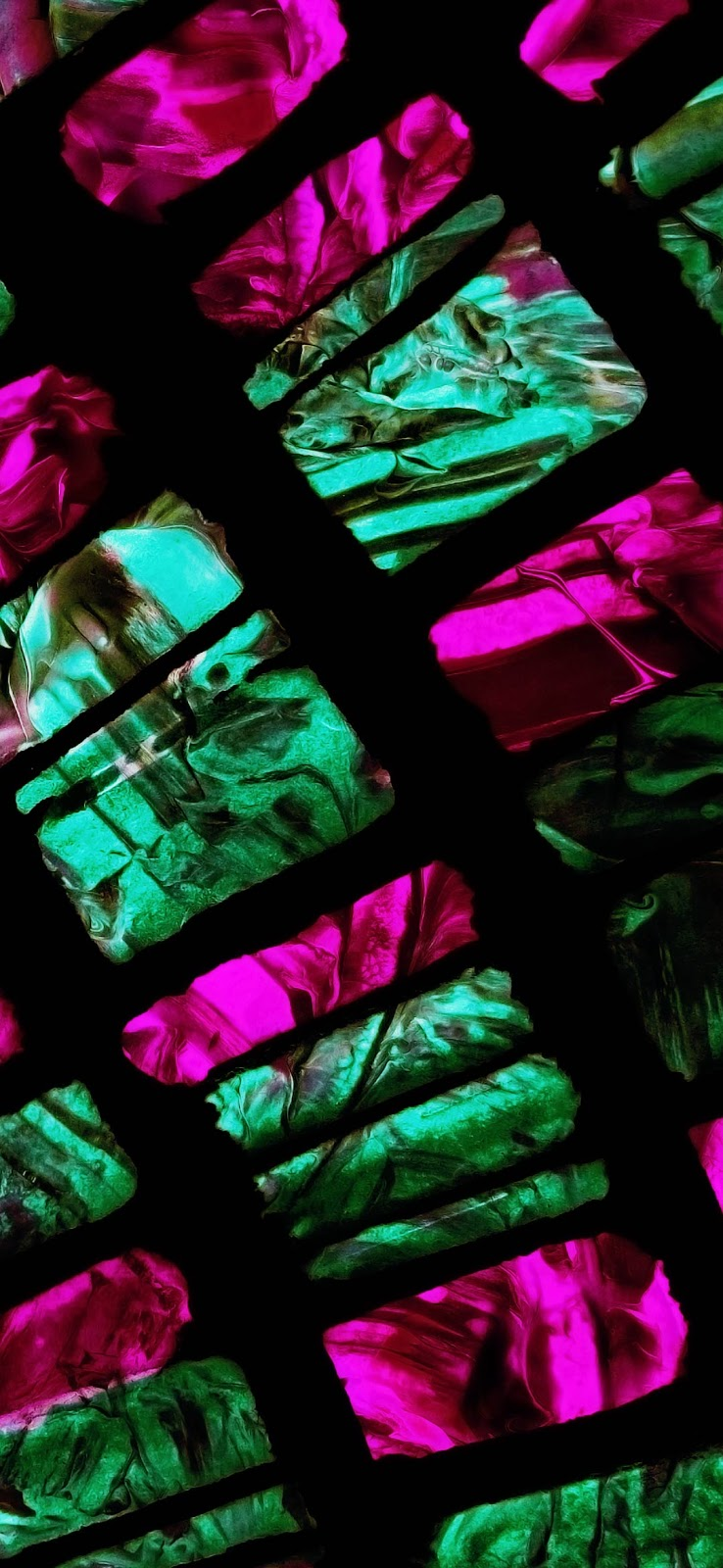 green and violet glass stones wallpaper