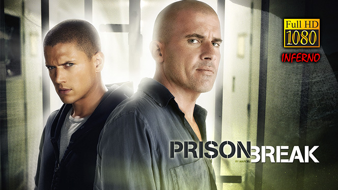 Prison Break Serie Completa BDRip 1080p Latino-Inglés + Final Break