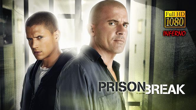 Prison Break Serie Completa BDRip 1080p Latino-Inglés + Final Break