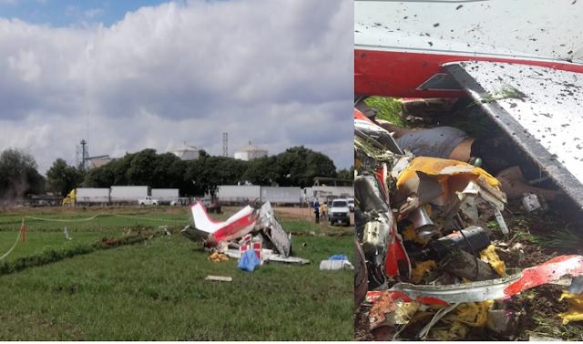Fotos: Muere nieto de Amado Carrillo Fuente y 2 personas más tras avionetazo en Navolato, Sinaloa
